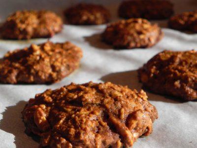 Vločkové celozrnné sušenky – placičky