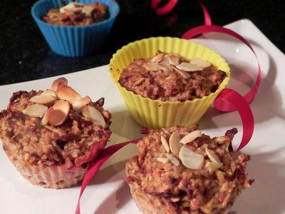 Jablečné muffiny bez mouky