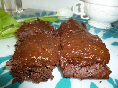 Brownies z červených fazolí