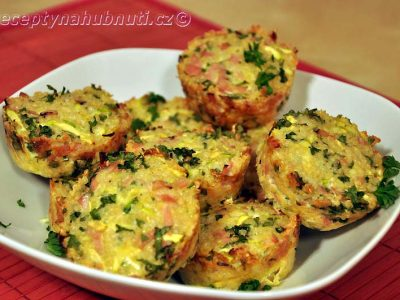 Roztomilé quinoa muffiny