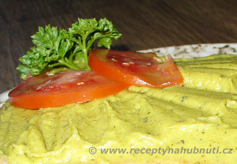 Brokolicová tofu pomazánka