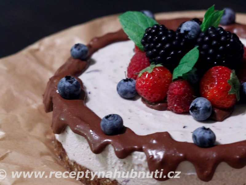 Fantastický raw cheescake