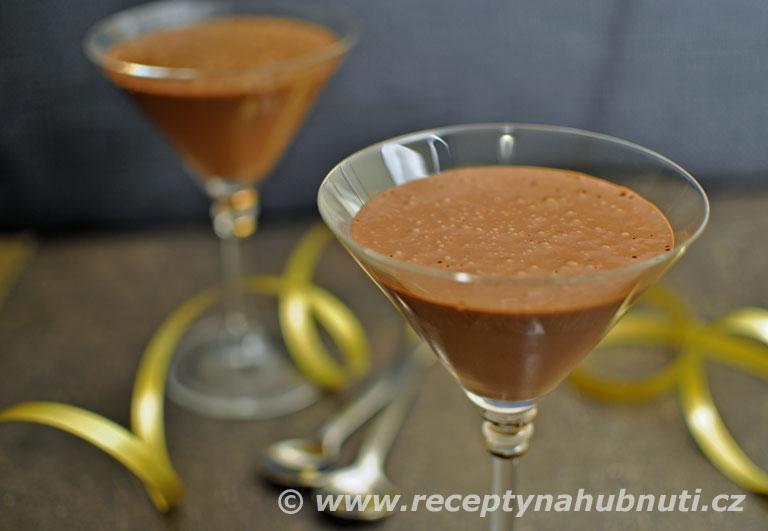 Zdravá čokoládová pěna