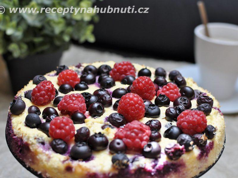 Ovocný dortík bez mouky a cukru