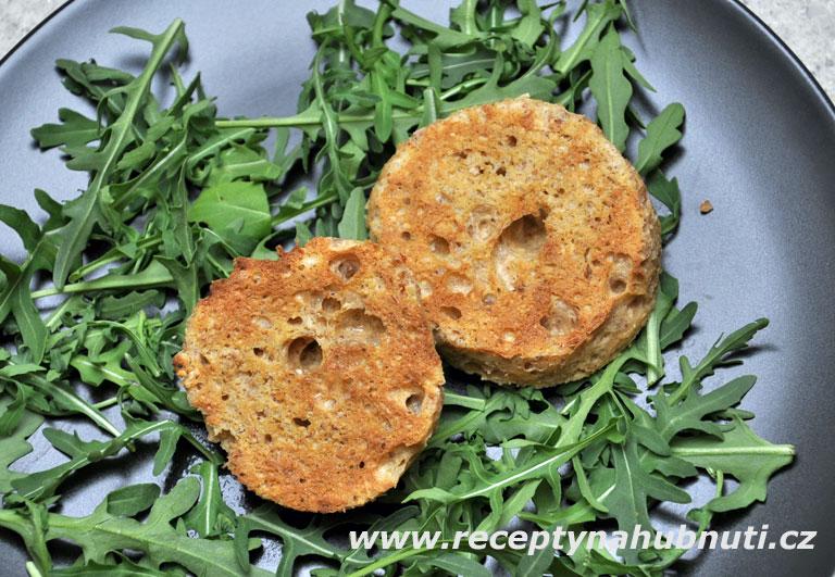 Low-carb anglický muffin za 1 min