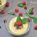 LCHF – vanilkový pudink bez škrobu a cukru (low carb, keto)