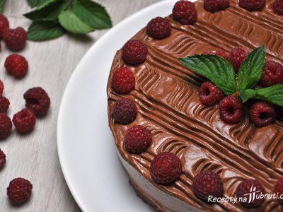 Úžasný čokoládový dort bez cukru a mouky (low carb, keto, LCHF)