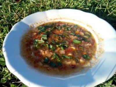 Škvarková polévka