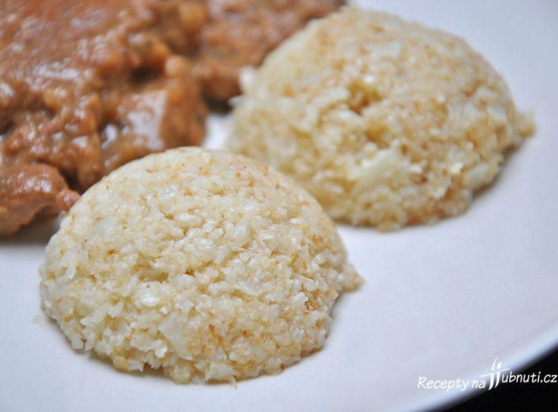 Květáková rýže (LCHF, keto, low carb)