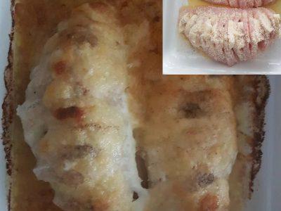 Kuřecí prsa plněná mozzarellou