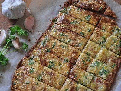 Pizza chléb bez mouky (lowcarb, keto)