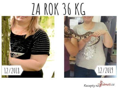Za rok o 36 kg méně, jím maso a tuk